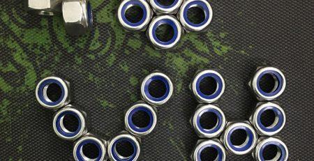 Êcu khóa nhựa inox | Đai ốc khóa nhựa inox