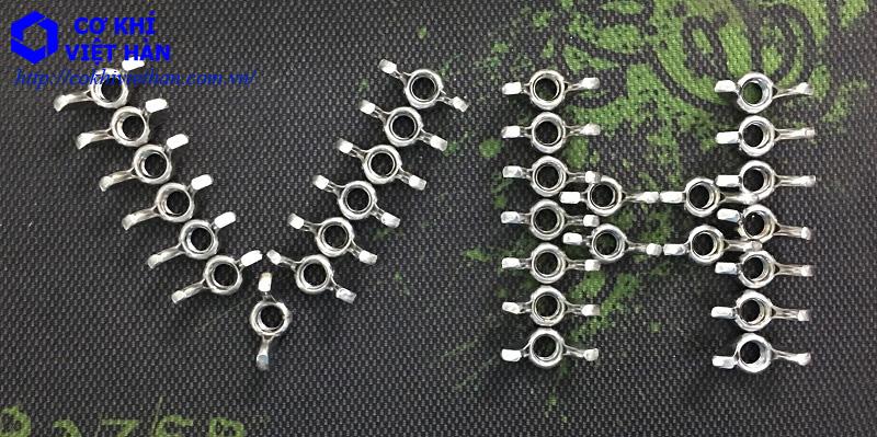 Êcu Tai Hồng Inox | Đai ốc tai chuồn inox | Stainlees Steel Wing Nuts